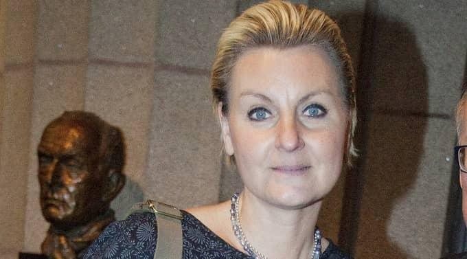 VILL HA ÖPPENHET OM PARTIBIDRAGEN. Maria Abrahamsson är jurist och har ett förflutet som ledarskribent på Svenska Dagbladet. Hon sitter i riksdagen sedan 2010. Foto: Stefan Forsell