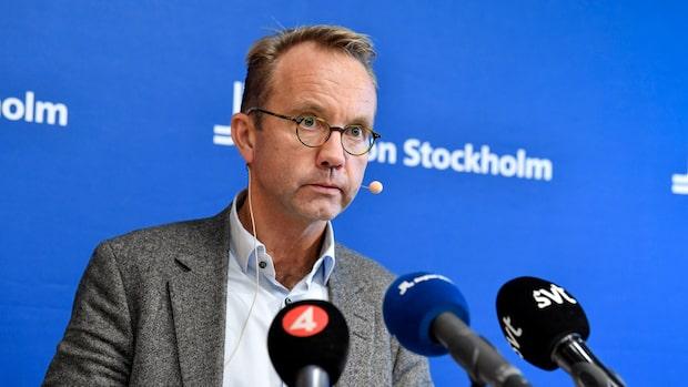 """Björn Eriksson: """"Mycket oroande tecken på att smittspridningen ökar"""""""