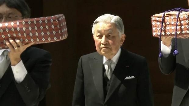 Ny tideräkning i Japan när kejsaren abdikerar