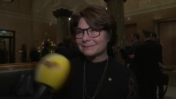 "Solveig Zander: ""Är en principöverenskommelse"""