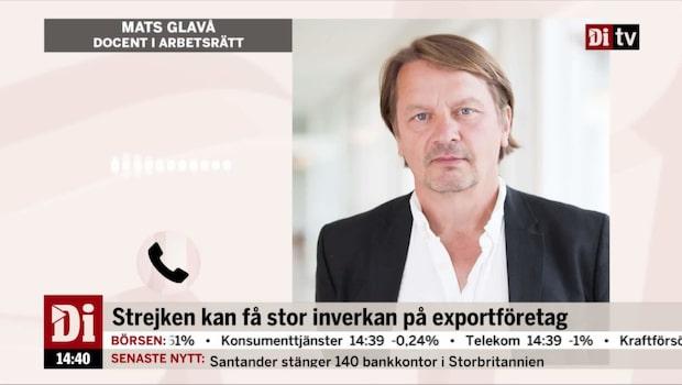 """I dag börjar strejken i svenska hamnar: """"Mycket ovanligt"""""""