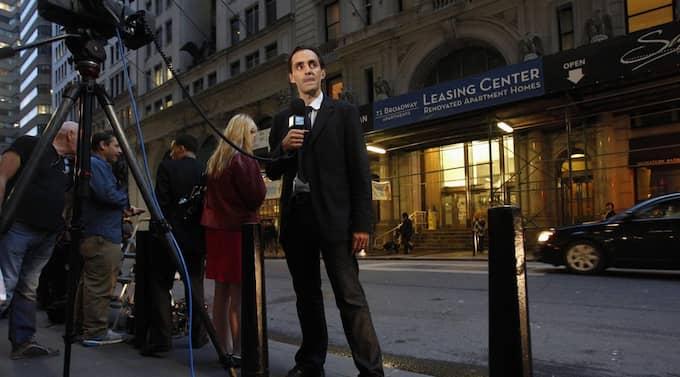 Under fredagen beslutade en domare att Strauss-Kahn skulle släppas mot en borgen på en miljon dollar. Foto: Jessica Rinaldi