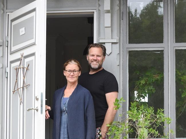 Annakathrine Throell och Peter Thörnquist.
