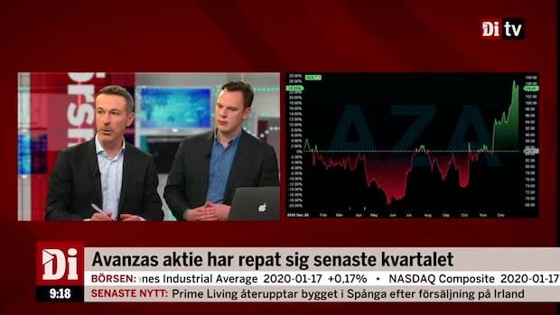 Erik Penser:s aktiechef: Avanza rör sig i linje med marknaden