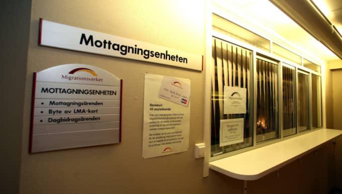 Migrationsverket i Jönköping. Foto: Lars Andersson