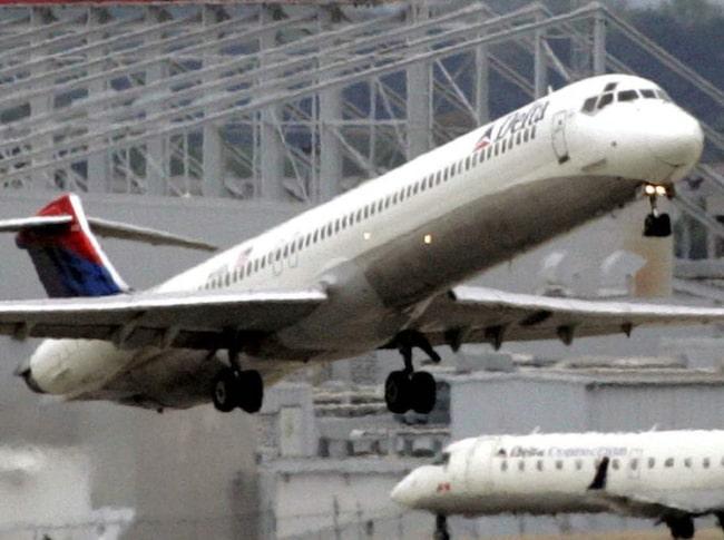 <span>Delta Airlines-planer hade en fyrfota passagerare.</span>