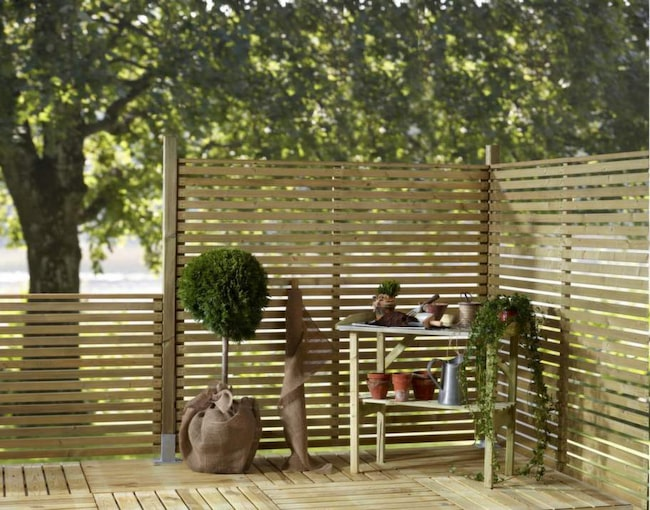 10 snygga staket för hus och uteplats Leva& bo Expressen Leva& bo