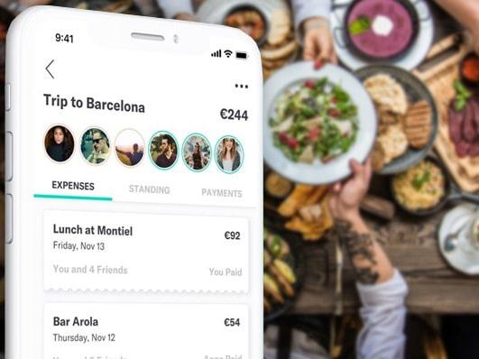 Steven, den smarta appen som hjälper en grupp att hålla reda på vem som är skyldig vem pengar.