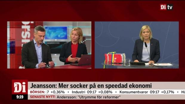 """Jeansson: """"Rustar inte Sverige för ett maratonlopp"""""""