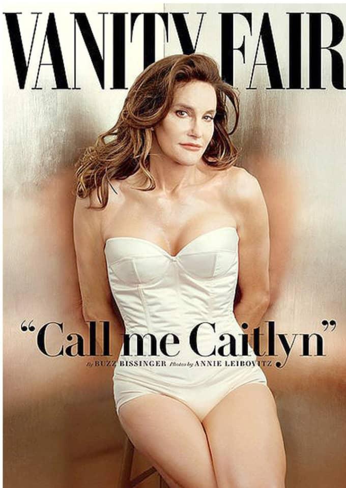 Här är första bilden på Caitlyn Jenner. Foto: Skärmdump, vanityfair.com