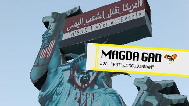 """Magda Gad - """"Frihetsgudinnan"""""""
