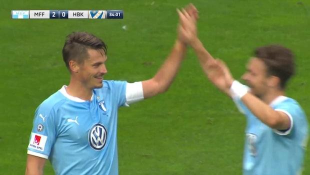 Höjdpunkter: Malmö FF-Halmstad