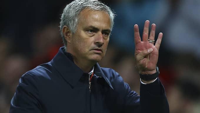 José Mourinho. Foto: DAVE THOMPSON / AP TT NYHETSBYRÅN