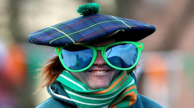 St Patrick's day är Irlands nationaldag. Foto: Niall Carson / AP TT NYHETSBYRÅN