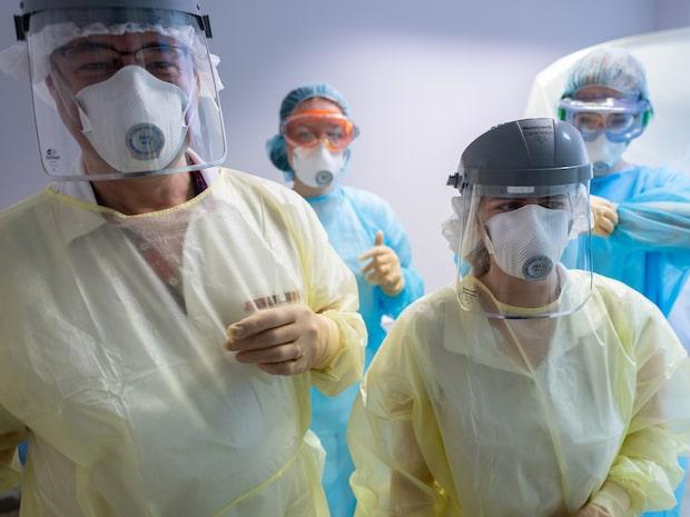 """Så intensivvårdas patienter med corona: """"Jobbigt att andas"""""""