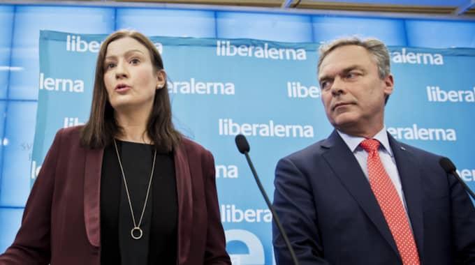 Birgitta Ohlsson (L) och Jan Björklund (L). Foto: Lisa Mattisson Exp / LISA MATTISSON EXP