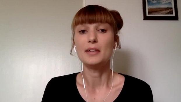 """Hanna Gisslén på Djurrättsalliansen: """"Det var fruktansvärt"""""""