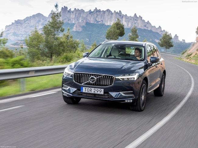 Volvo XC60, en av de absolut säkraste familjebilarna enligt Folksam.