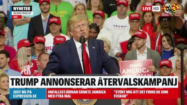 Se Donald Trumps hela tal