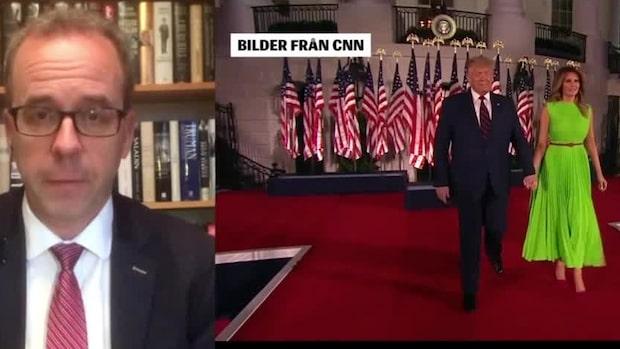 Mats Larsson: Trump inser att han inte kan hindra Biden