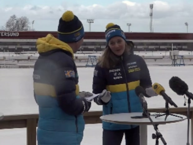 """Stina Nilsson: """"Vaknar varje morgon och vill peppra skott"""""""
