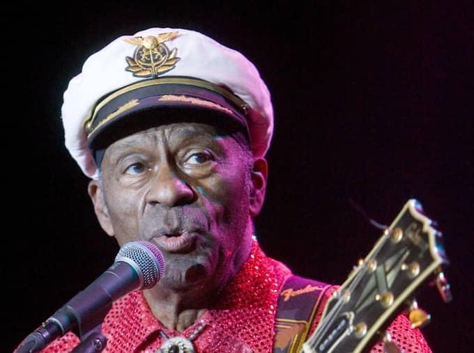 Chuck Berry räknas som en av förgrundsfigurerna inom den tidiga rock'n'roll-musiken på 1950-talet. Foto: Joachim Wall