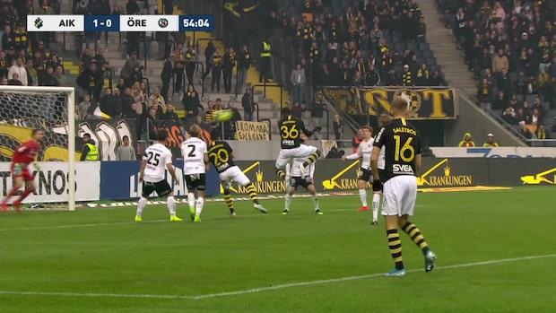 Goitom nickar in 1-0 till AIK
