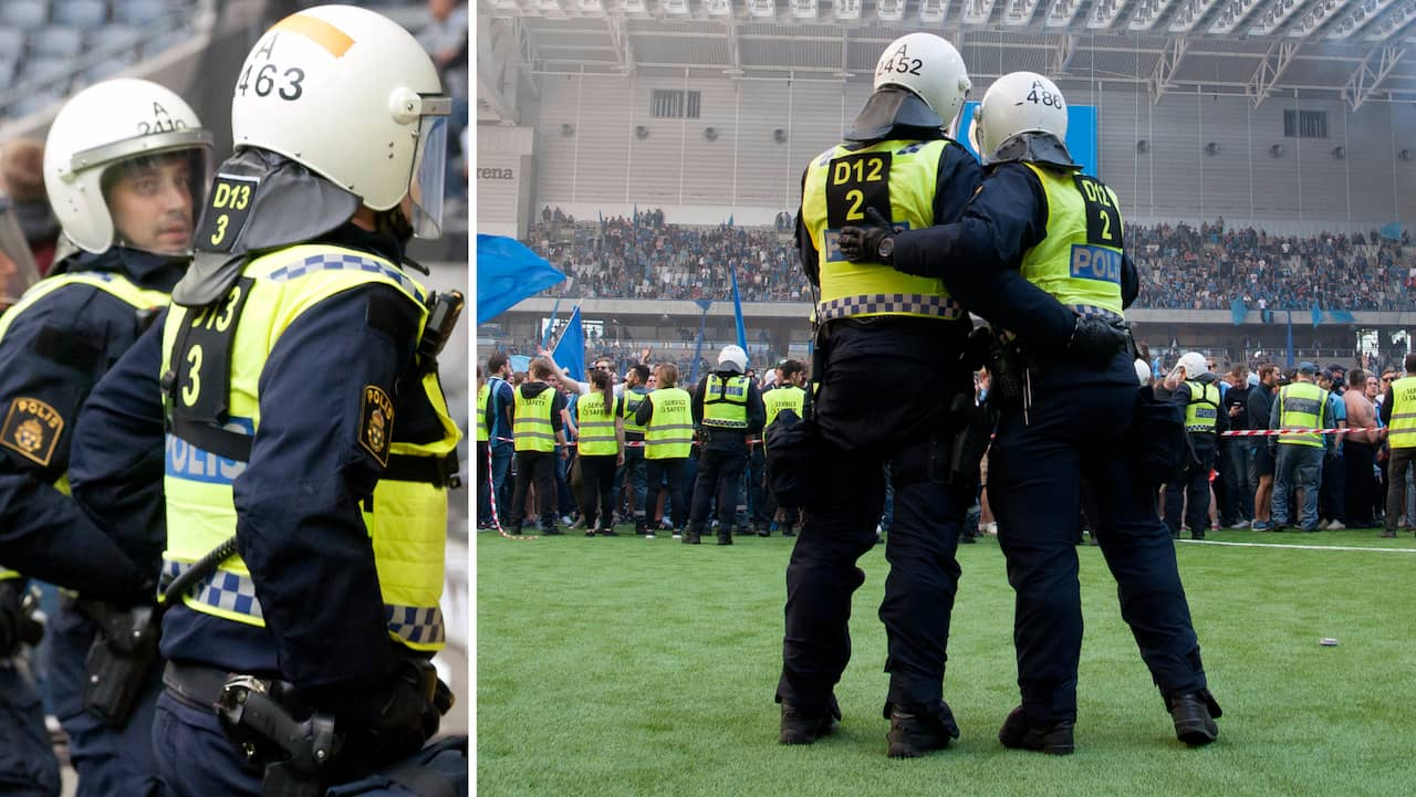 """Poliser utbildas för att använda tårgas under fotbollsmatcher: """"Fullt tänkbart"""""""
