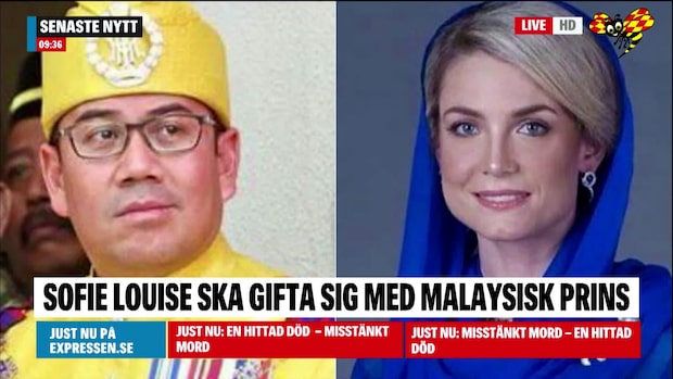 Sofie Louise, 33, ska gifta sig med malaysisk prins