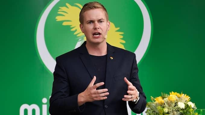 Gustav Fridolin vill få till nya stambanor för höghastighetståg. Foto: JANERIK HENRIKSSON/TT