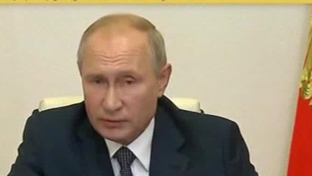 """Putin: """"Jag vet att vaccinet fungerar eftersom att min dotter vaccinerats"""""""