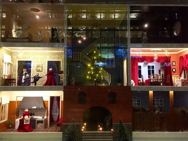 Årets julskyltning på NK i Stockholm.