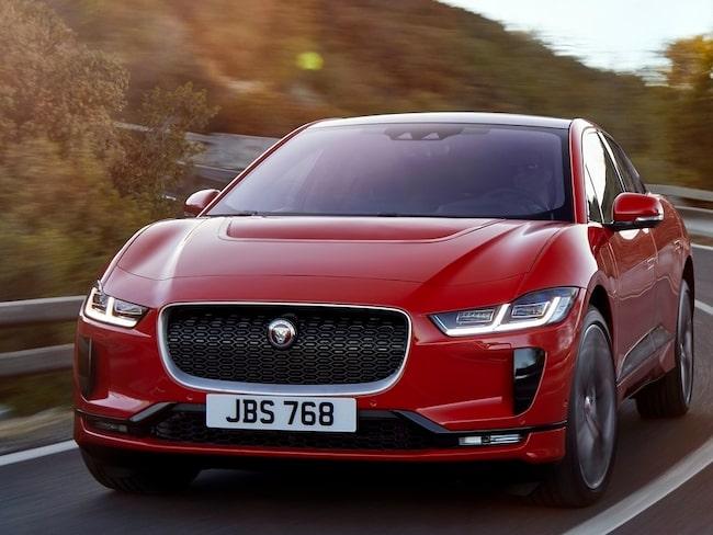 """Jaguar I-Pace vinner """"Wold Car of the Year"""", eller Årets bil i världen."""