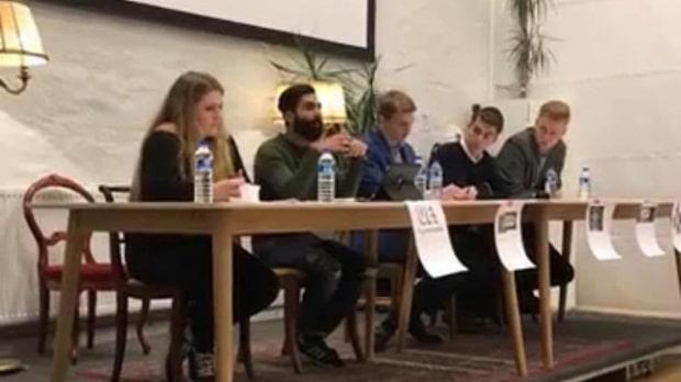 SSU-politiker har företrätt homofobisk moské och militärregim