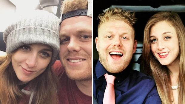 Paret träffades på Tiktok – nu har de gift sig