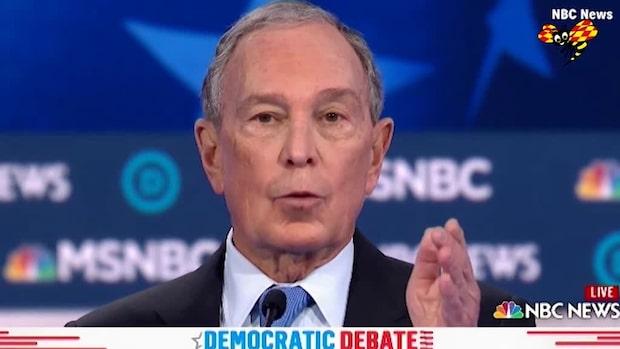 Bloomberg ställdes till svars från alla håll under nattens debatt