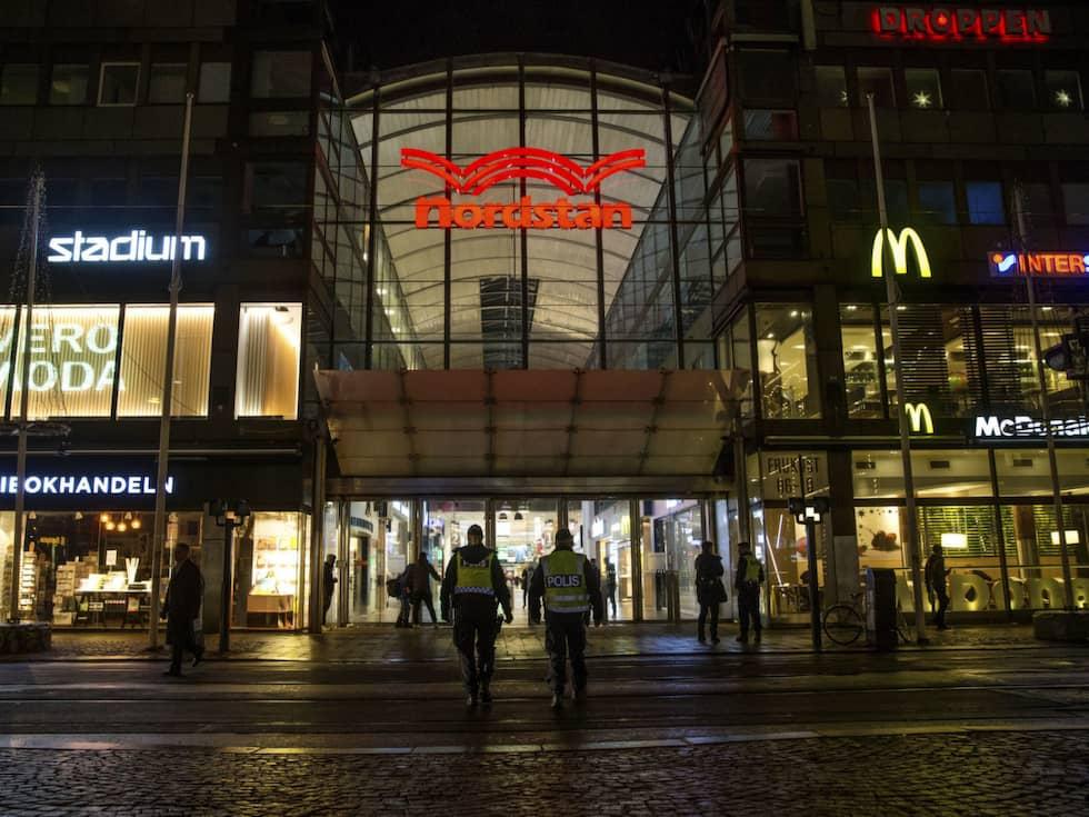 Narkotikaförsäljning, misshandelsfall och hotade butiksägare. Foto: Henrik Jansson GT/Expressen