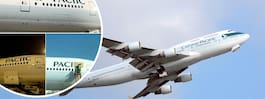 Roliga missen från flygbolaget – stavade fel på sitt eget plan