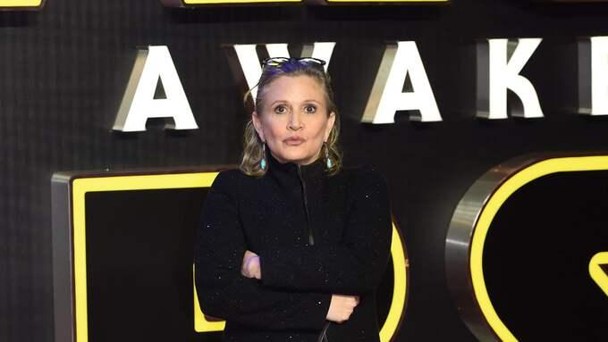 Star Wars-stjärnan Carrie Fisher Foto: FACUNDO ARRIZABALAGA / EPA / TT / EPA TT NYHETSBYRÅN