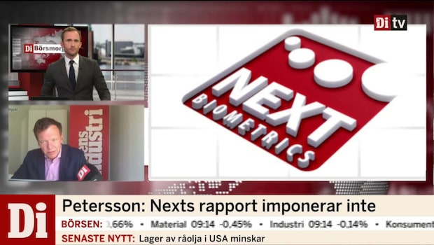 Petersson: Nexts rapport imponerar inte