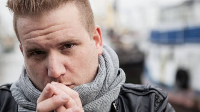 Andreas har fått ett stipendium på 50 000 kronor för sin text om mobbning. Foto: Pressbild