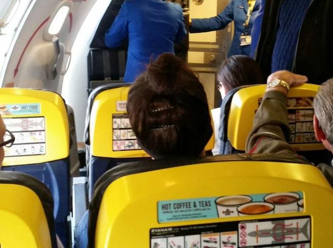 <span>Det gula som vi är vana att se ombord på lågprisflyget tonas ner rejält.</span>