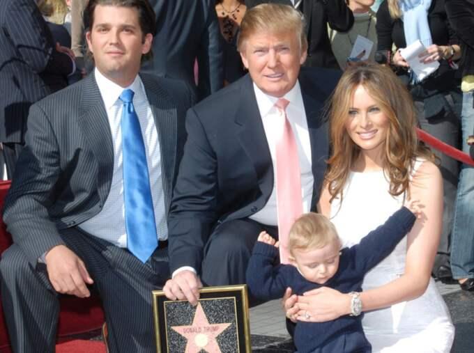 Donald Trump fick sin stjärna på Hollywood Walk of Fame 2007 Foto: Photo Jim Smeal/Beimages
