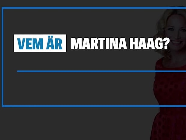 Vem är Martina Haag?