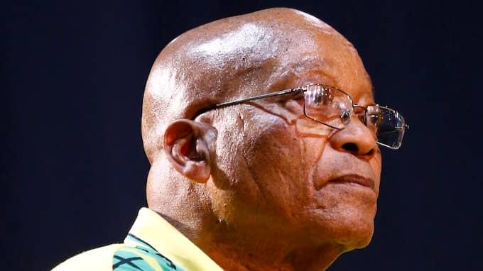 Källor uppger för nyhetsbyrån Reuters att ANC har fattat beslut om ett så kallat återkallande av Zuma från presidentämbetet. Uppgiften har dock inte bekräftats. Foto: KIM LUDBROOK / EPA / TT / EPA TT NYHETSBYRÅN
