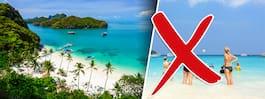 Thailands nya förbud begränsar ö-turismen