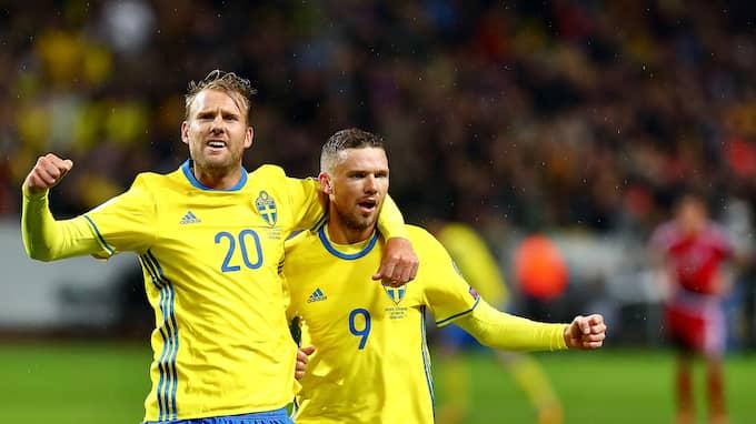 Sverige körde över Luxemburg med hela 8-0 på lördagskvällen. Foto: PETER HOLGERSSON / BILDBYRÅN