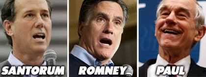 Hårda attacker mellan kandidaterna. Foto: AP/Reuters