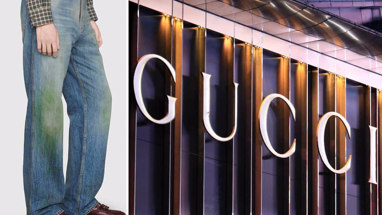 gräsfläckar på jeans