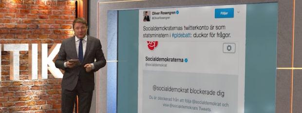 Bara politik: Heta listan - så twittrade politikerna under veckan